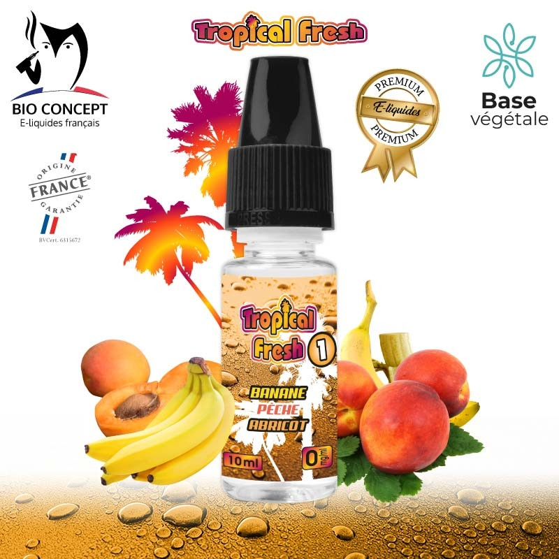 TROPICAL FRESH 1 E-LIQUIDE PREMIUM