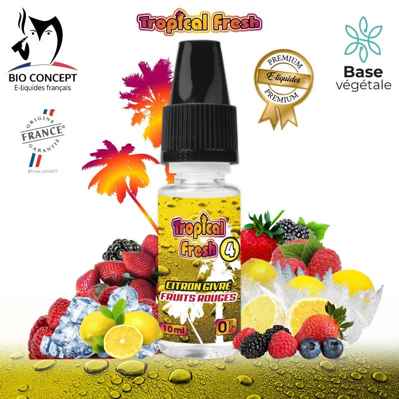 TROPICAL FRESH 4 E-LIQUIDE PREMIUM