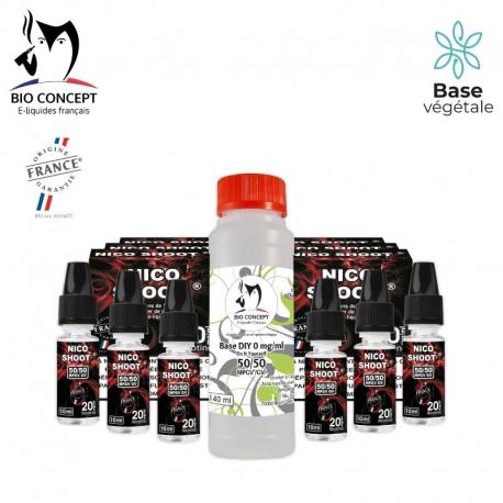 PACK 140ML BASE + NICO SHOOT® 10MG/ML