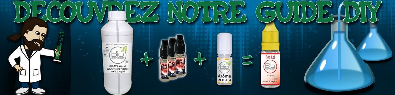 Le DIY Débarque ! Base + Nicoshoot + Arôme = Liquide moins cher !