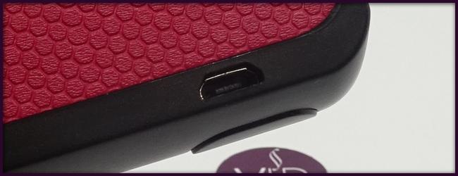 Rechargement via Micro USB (Câble fourni) pour la cigarette électronique EGO AIO BOX
