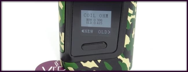 Écran BOX Alien AL85 - Nouvelle résistance détecté