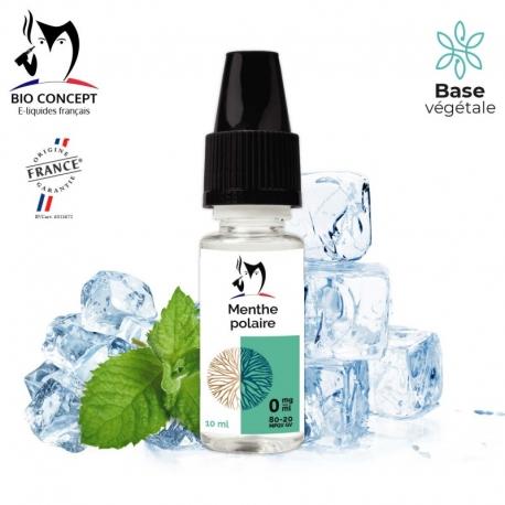 E liquide saveur MENTHE POLAIRE Bio Concept