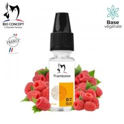 E liquide saveur FRAMBOISE Bio Concept
