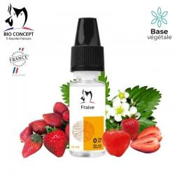 E liquide saveur FRAISE Bio Concept