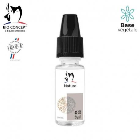 E liquide saveur NATURE/NEUTRE BIO CONCEPT