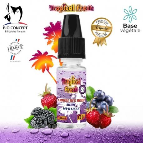 E liquide saveur TROPICAL FRESH N°2 BIO CONCEPT