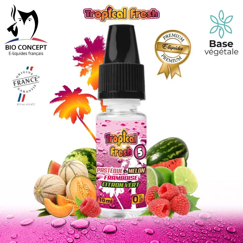 E-LIQUIDE PREMIUM TROPICAL FRESH N°5