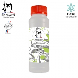 BASE 80% PGV / 20% GV 140ML